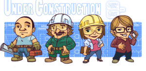 Under Construction - Character Designs (Chibi)