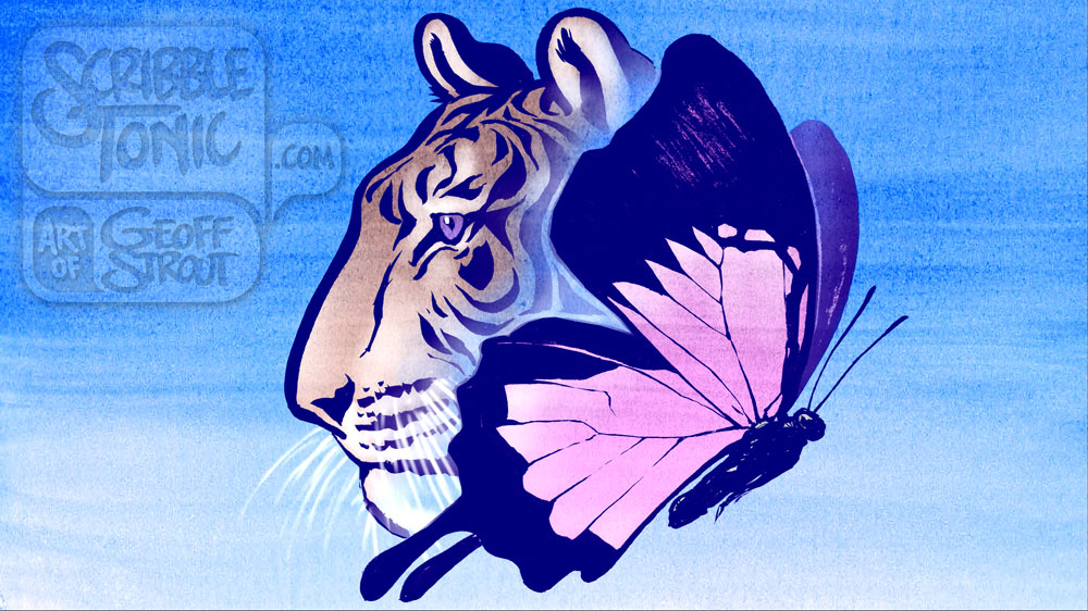 Tiger & Butterfly – Profile