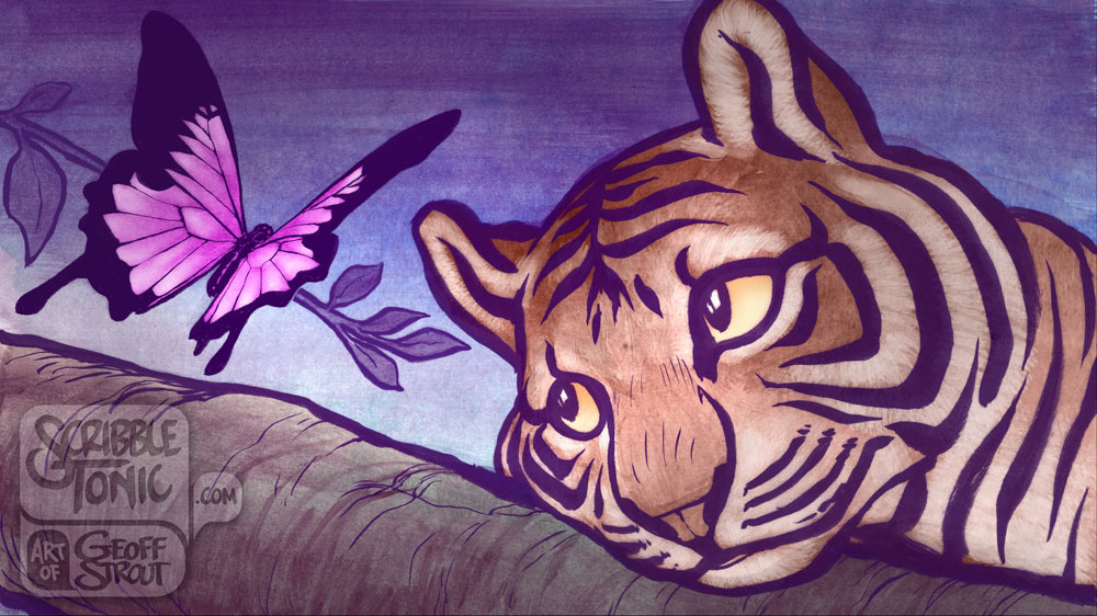 Tiger & Butterfly – 21